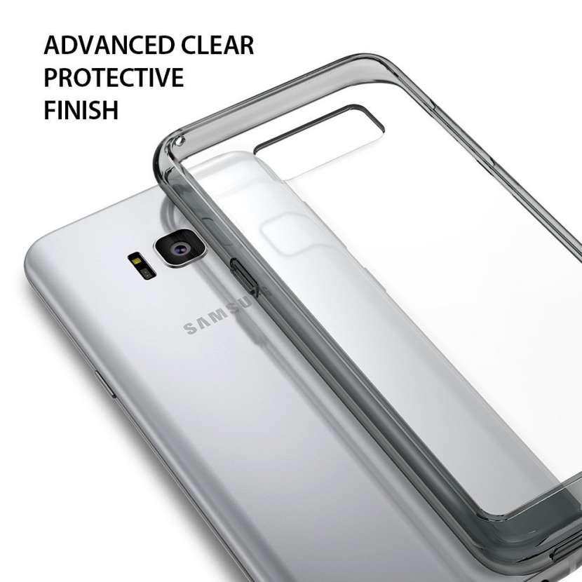 Ringke Fusion Smoke Black funda para Samsung Galaxy S8+ - 0