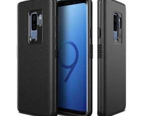 Patchworks Mono Grip Black - Funda Para Samsung Galaxy S9+