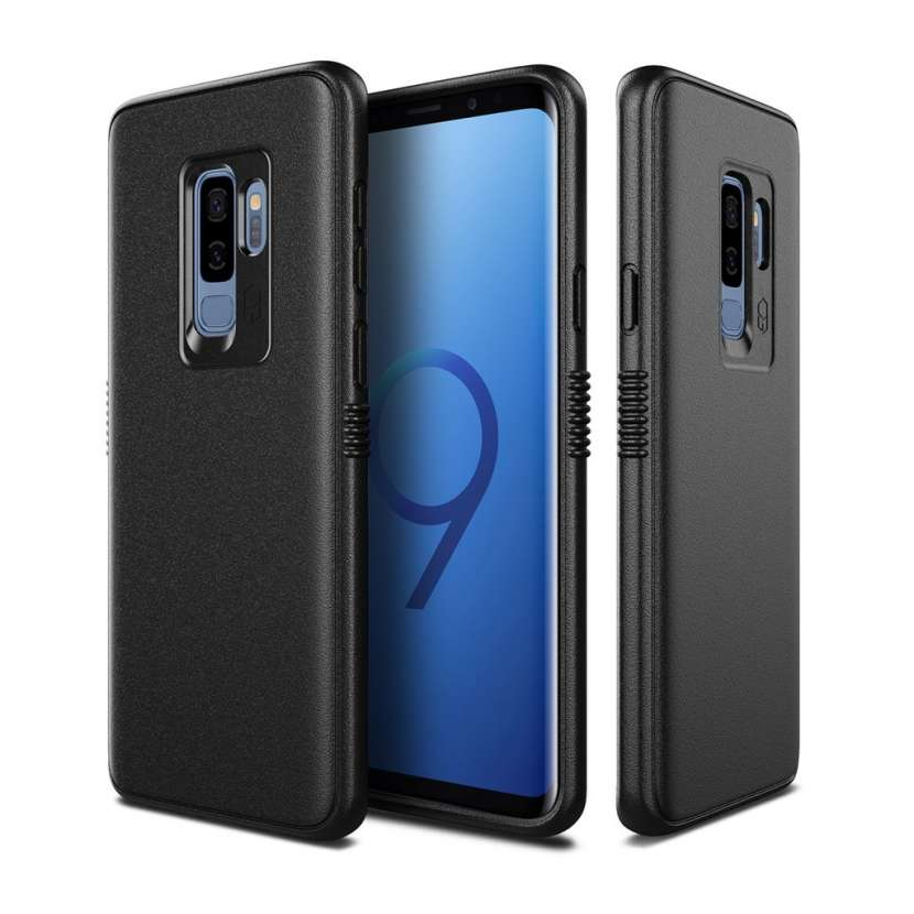Patchworks Mono Grip Black - Funda Para Samsung Galaxy S9+ - 0