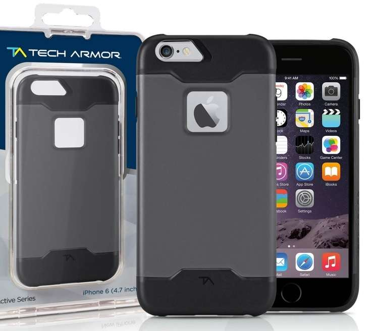 Tech Armor Hybrid funda para Iphone 6 Plus - 0