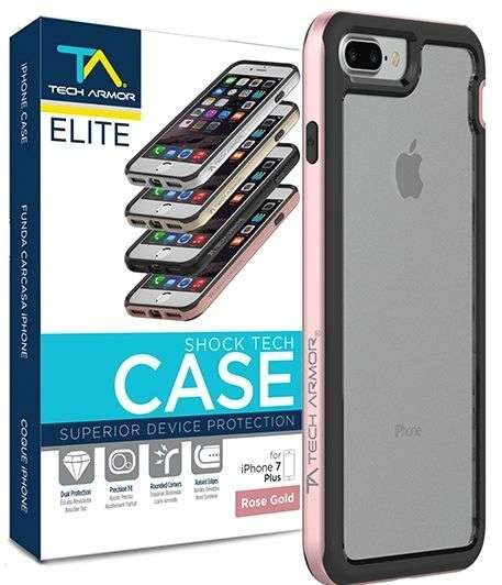 Tech Armor Shock Tech funda para Iphone 7 Plus - 0