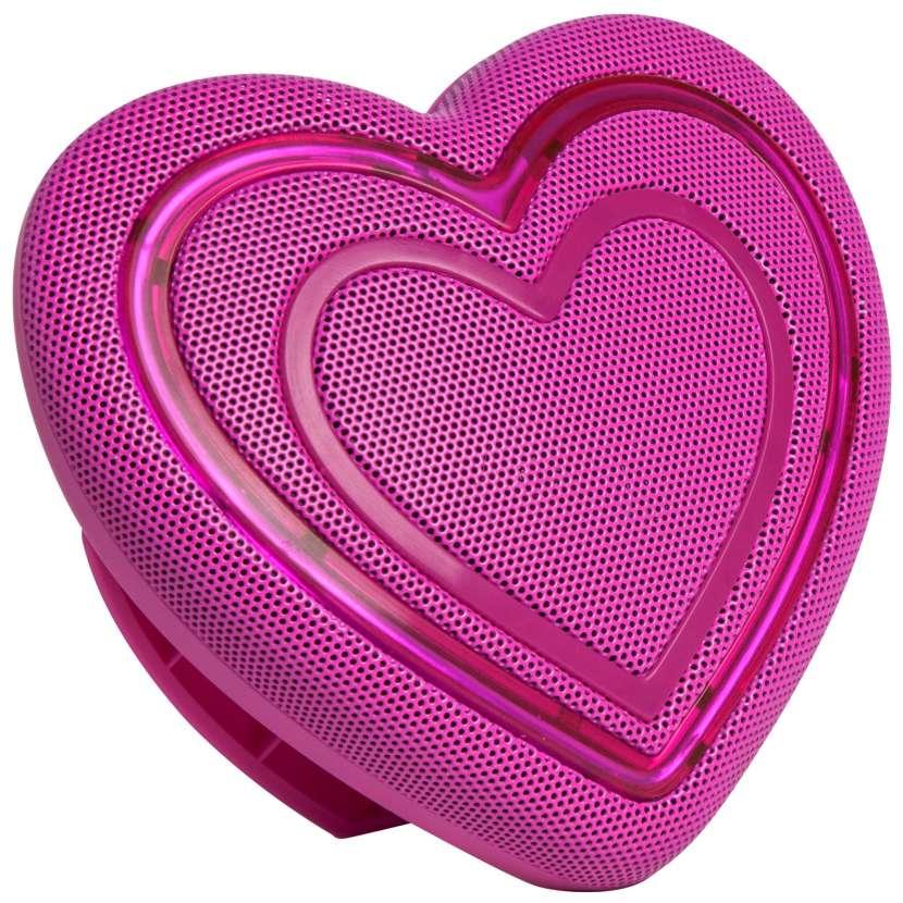 Parlante Bluetooth Jamoji Corazón - 0
