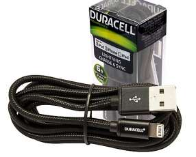Cable Duracell Lightning 1.8M para Iphone