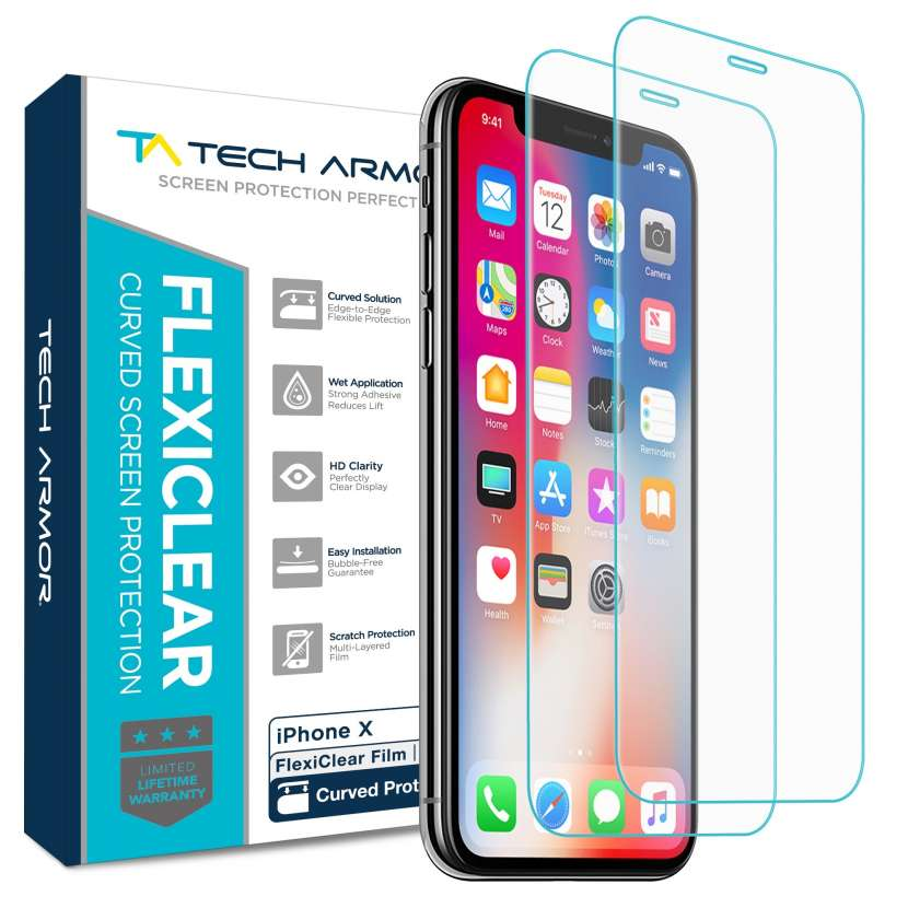 Lámina Protectora Tech Armor Iphone X - 0