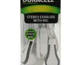 Auricular con micrófono Duracell - 3.5 Mm