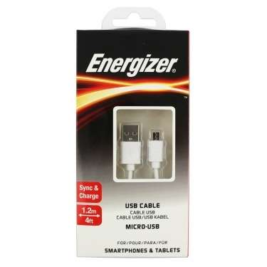Cable Energizer Micro Usb 1.2M - 0