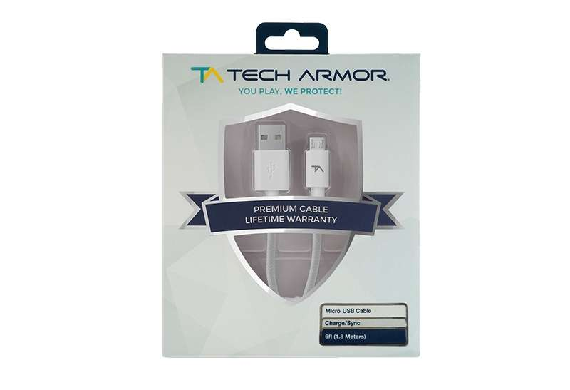 Cable Tech Armor Micro Usb High Speed - 0