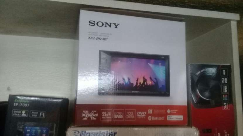 Radio Sony DVD , Bluetooth, DVD, control remoto. - 0