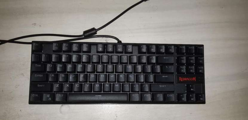 Teclado gaming red dragon - 1