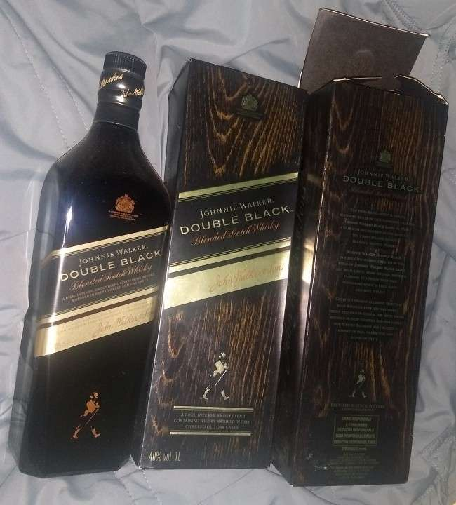 Johnnie Walker Double Black 1 litro - 1