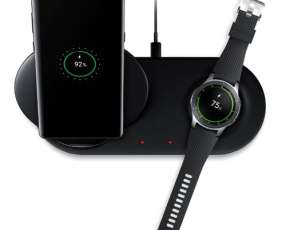 Cargador Samsung Doble Wireless para Smartphone y Smartwatch
