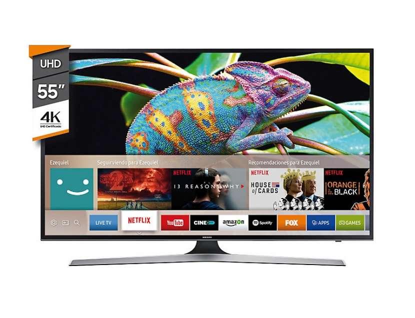 Tv Led Samsung 55 pulgadas Uhd Hdr Smart - 0