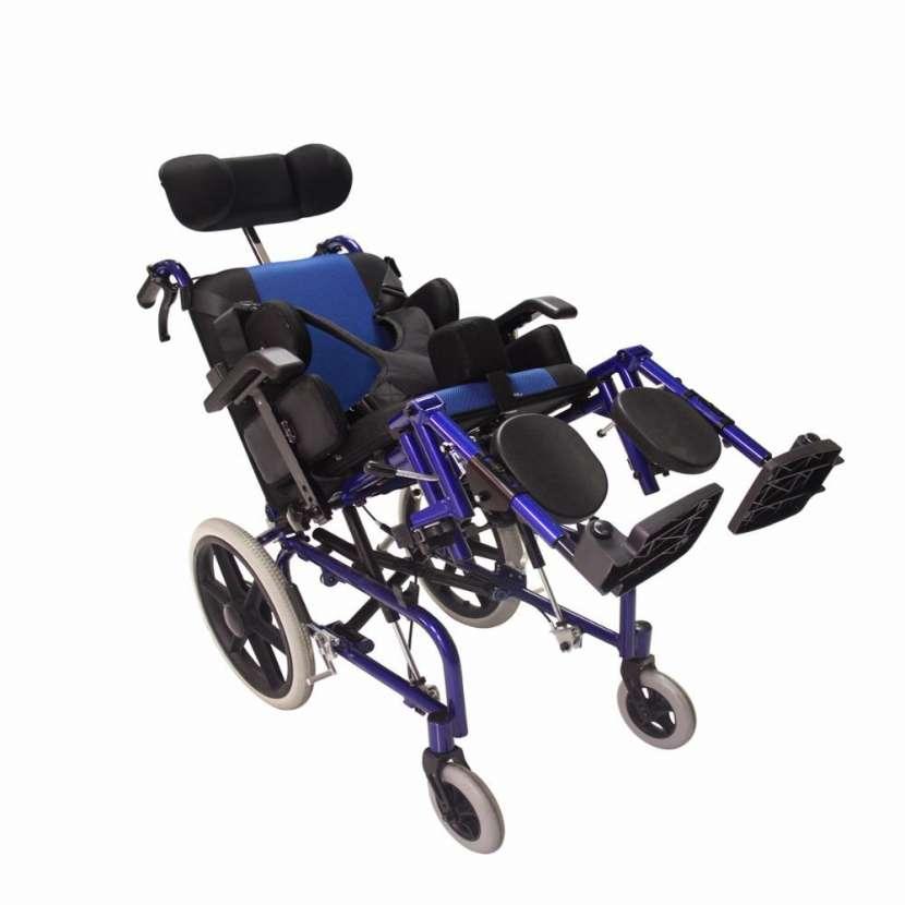 Silla de ruedas posturales blue rayas - 0
