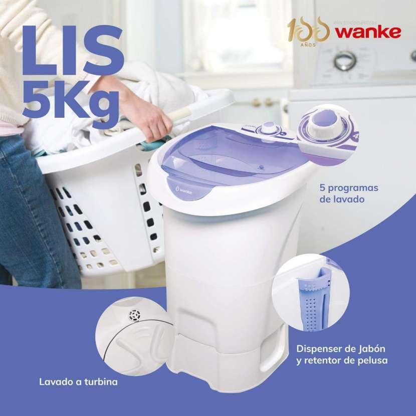 Lavarropa Wanke lis 5kg - 0