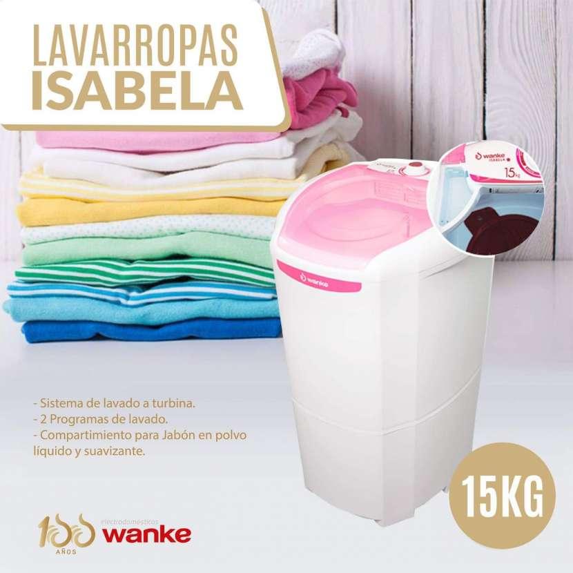 Lavarropa Wanke isabela 15 kg - 0