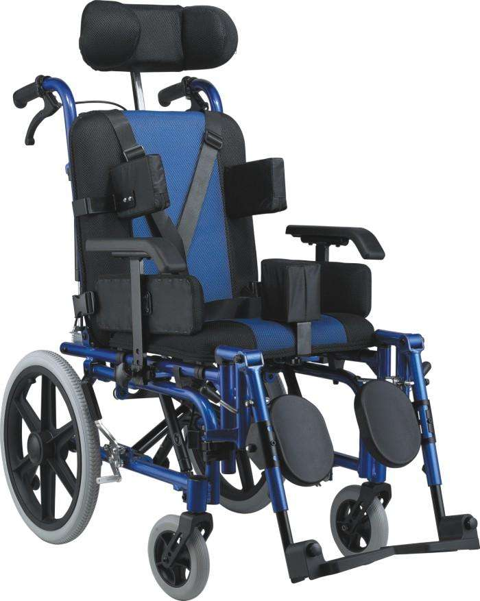 Silla de ruedas posturales blue rayas - 2