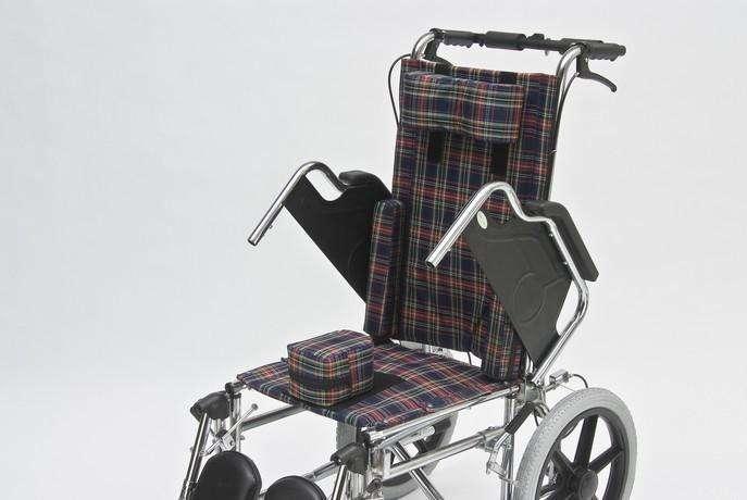 Silla de ruedas postural para niños blue rayas - 3