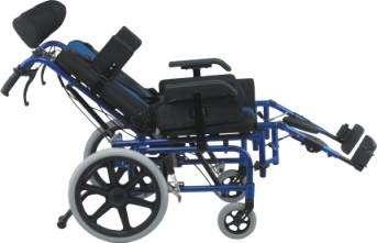 Silla de ruedas posturales blue rayas - 4