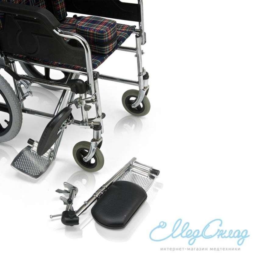 Silla de ruedas postural para niños blue rayas - 5