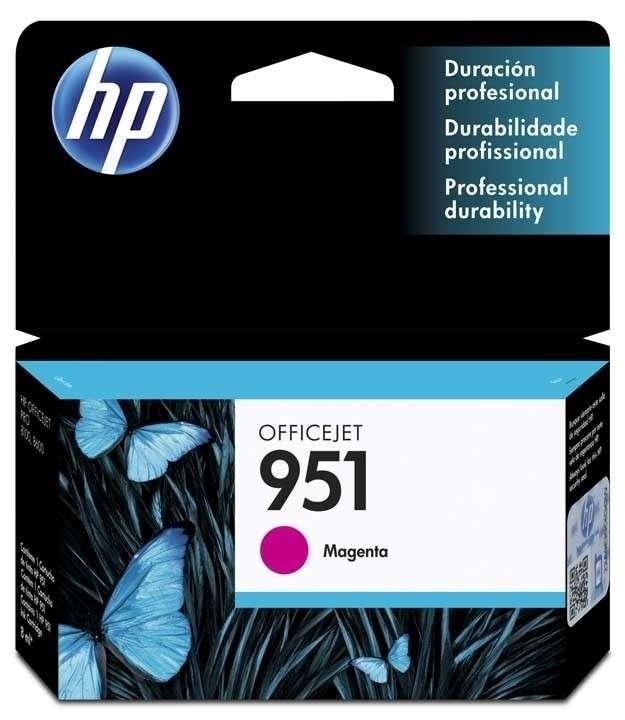 Cartucho de Tinta HP 951 Magenta - 0