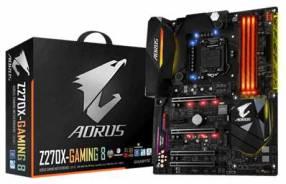 MB Gigabyte 1151 Z270X-GAMING 8 AORUS S/2R/HDMI/M2/DDR4/ATX