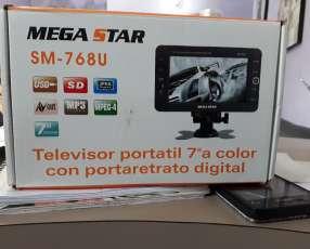 TV portátil y VR BOX