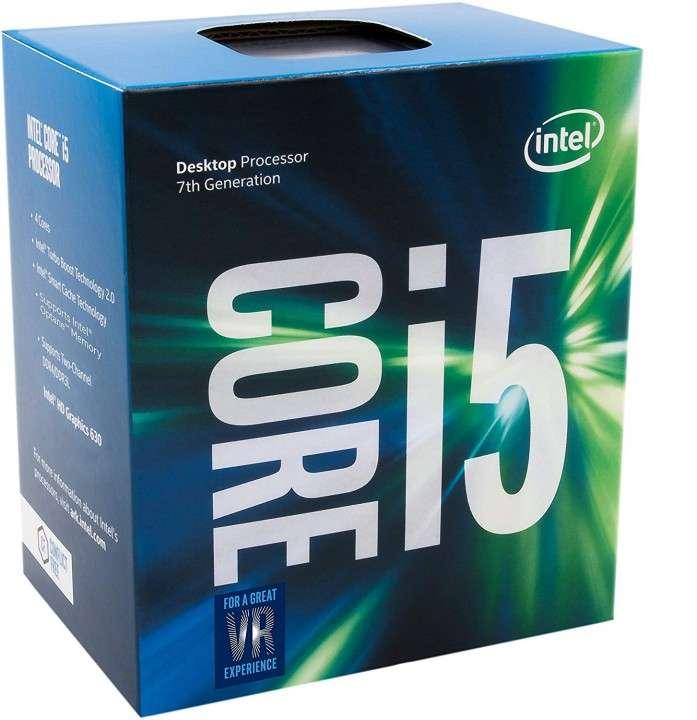 CPU INTEL 1151 Core I5-7400 3.0GHZ/6MB BOX - 1