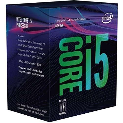 CPU INTEL 1151 Core I5-8400 2.8GHZ/9MB - 0