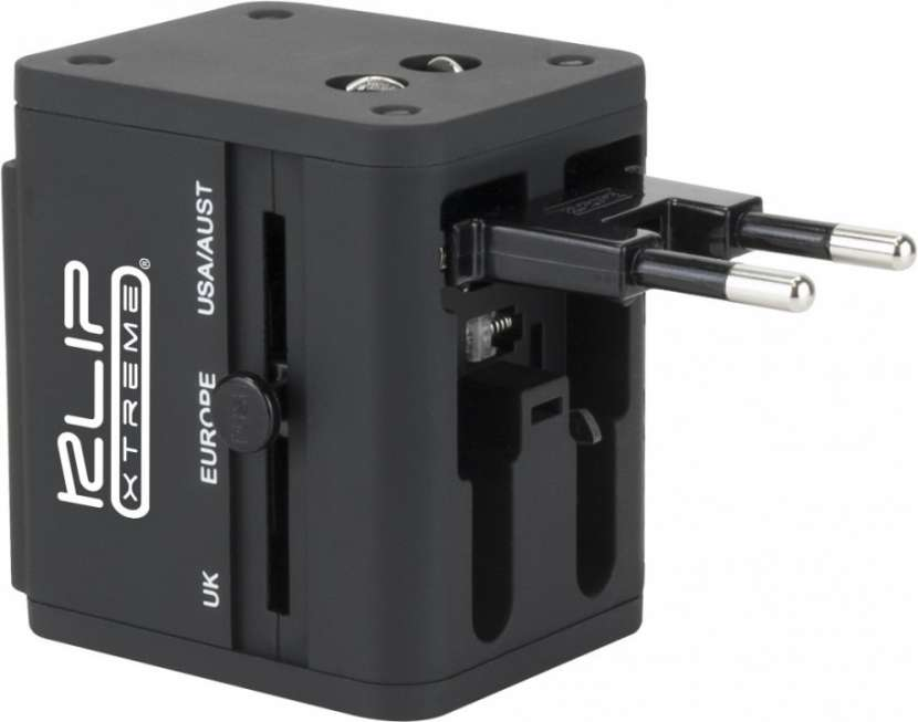 Cargador de pared klip KMA-150 universal p/energía c/2pb - 1