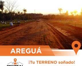Terreno en ciudad de Areguá