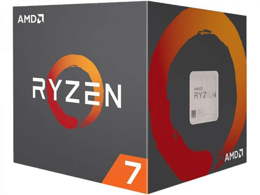 CPU AMD AM4 RYZEN 7 2700 3.2GHZ/20MB - 1