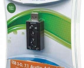 MANH ADAP FONE+MIC/USB 151429 7.1