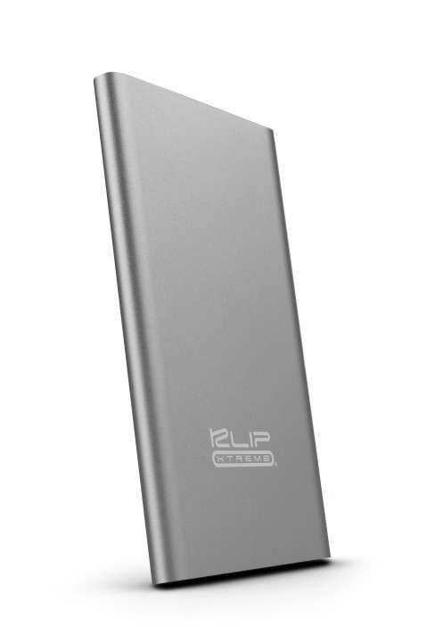 Cargador portátil klip KBH-175SV Fino 8000 mah gris - 0