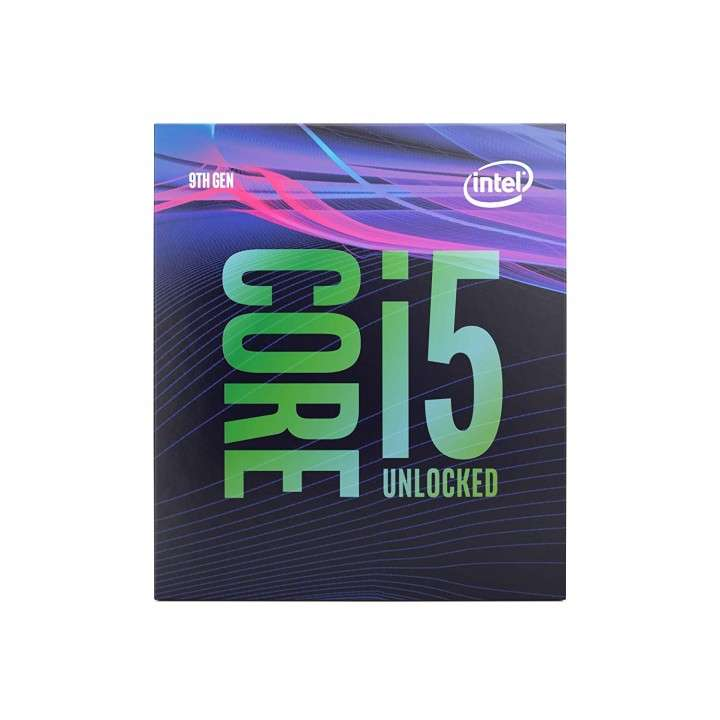 CPU INTEL 1151 Core I5-9600K 3.70GHZ 9MB - 0