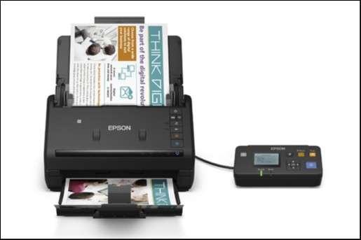 Scanner Epson es-500w workforce wifi - 0