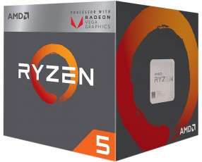 CPU AMD AM4 RYZEN 5 2400G 3.6GHZ/6MB
