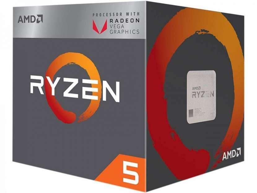 CPU AMD AM4 RYZEN 5 2400G 3.6GHZ/6MB - 0