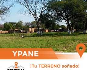 Terrenos en la creciente ciudad de Ypane