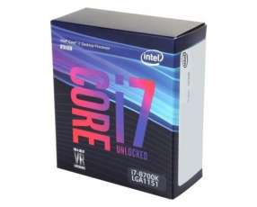 CPU INTEL 1151 Core I7-8700K 3.7GHZ/12MB