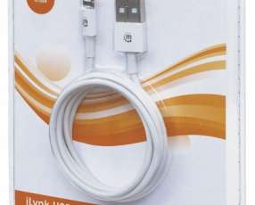 Manh cable light ilynk 393744 1mt p/iphone/blanco