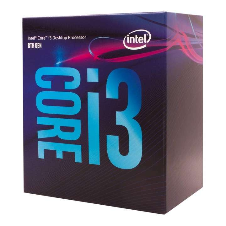 CPU INTEL 1151 CORE I3-8100 3.6GHZ/6MB - 0