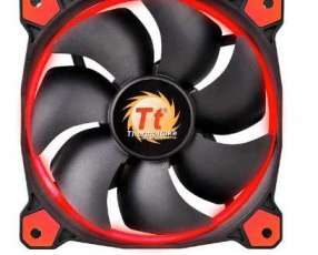 Cooler thermal riing 14 LED Red radiator fan 140MM