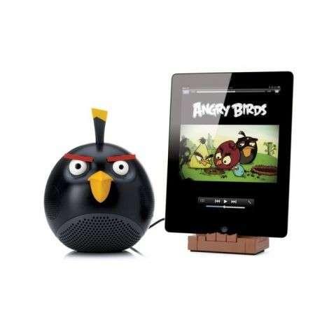 Mini mp3 player diseño angry bird negro - 0