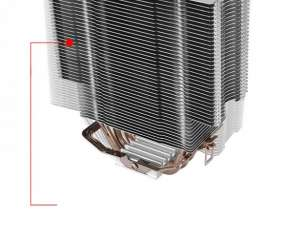 Cooler P/CPU Thermal contact silent 12 CL-P039-AL12BL-A