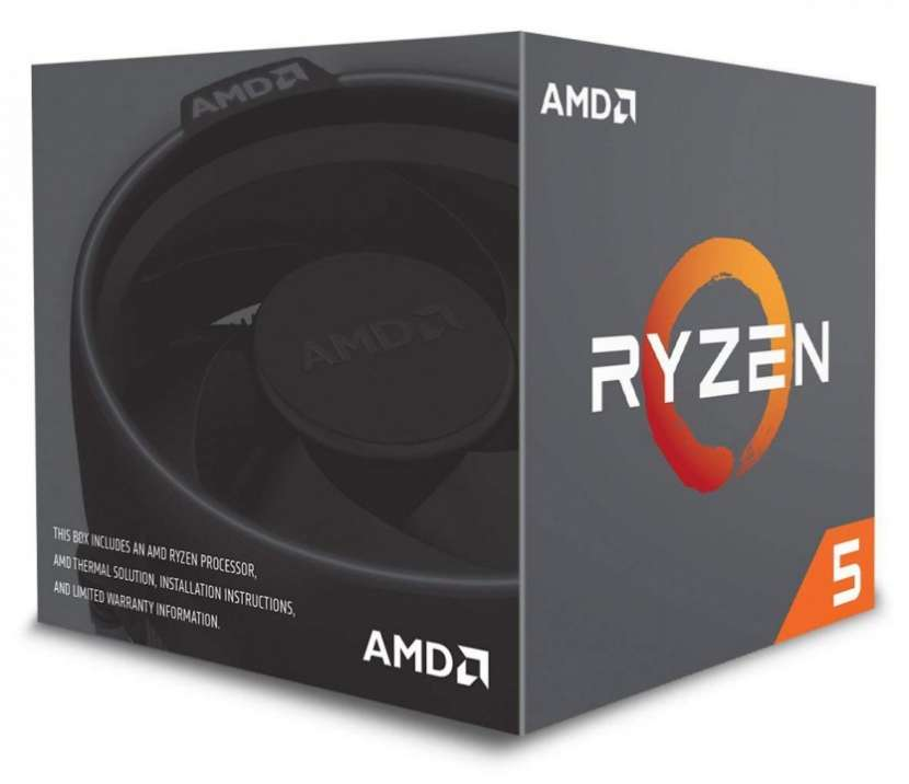 CPU AMD AM4 RYZEN 5 2600X 3.6GHZ/16MB - 1