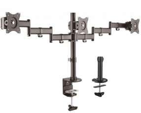 Soporte p/3mon klip kpm-320 13 a 27' pulgadas 8 kg c/lado articulado