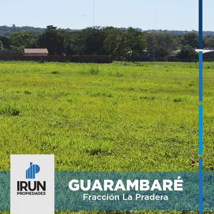 Terrenos en la creciente ciudad de Guarambaré