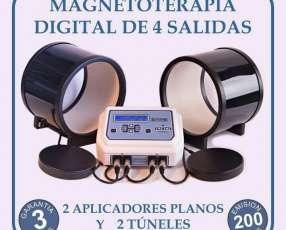 Magnetoterapia digital con 2 túneles y 2 placas