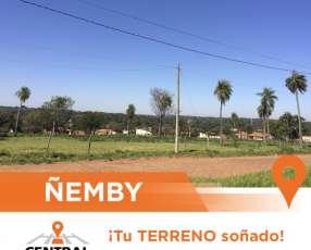 Terrenos en el centro de Ñemby!