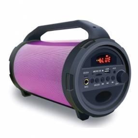 JVC Parlante xs-n218bu 10w usb/bt/sd/fm/batería/bivolt